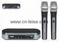 Professional dual channel uhf wireless