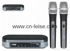 Professional dual channel uhf wireless