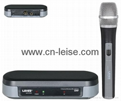 Single channel uhf wireless microphone