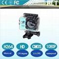 1080P Full HD12MP 170deg wide angle