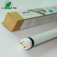 Isolation power supply TUV T8 LED tube light with lockable rotating end caps