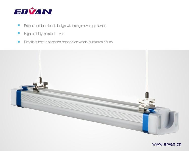 65w IP66 LED Tri-proof Light, 90W Fluorescent Tube Light