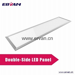 LED down light Double Sided 1200*300 40W,ceiling light canopies