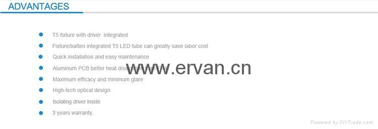 jewelry tube ,linear shelf lighting,TUV integrated T5 tube 10