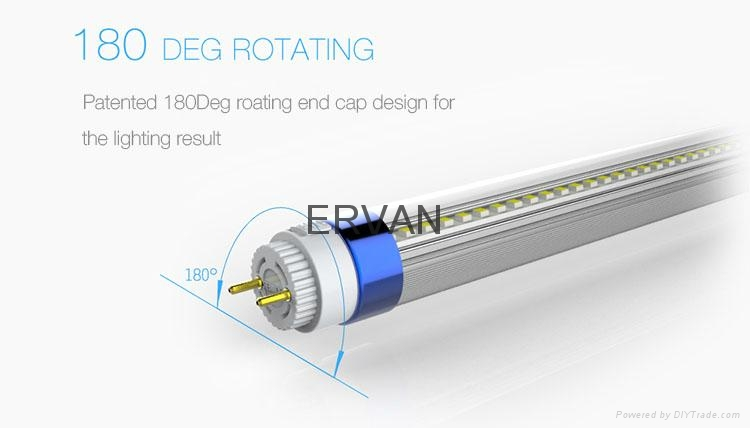 high efficiency tube t8 130LM/W T8 Tube LED with TUV VDE approval