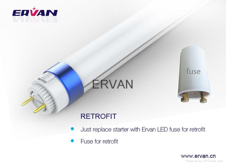 high efficiency tube t8 130LM/W T8 Tube LED with TUV VDE approval 6