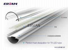 TUV LED Tube 130LM/W 5ft 30w commercial lighting