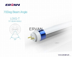 Double sides 120Deg Beam Angle T8 Tube light