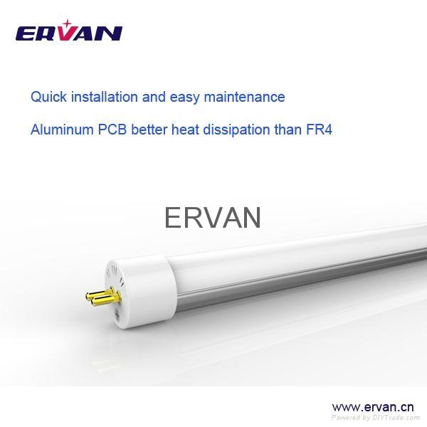 TUV 2015 rotatable led tube t5 18w cool white 1.2m dlc etl 4