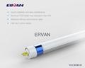 TUV 2015 rotatable led tube t5 18w cool white 1.2m dlc etl 5