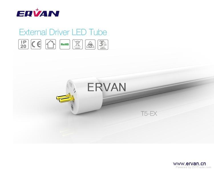 TUV 2015 rotatable led tube t5 18w cool white 1.2m dlc etl 11