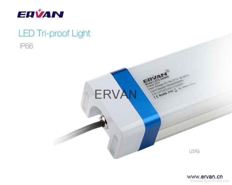 Excellent Heat Dissipation IK10 light tube Motion Sensor 5