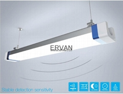 4ft tri-proof light IP66, vapor tight and water tight, meanwell driver