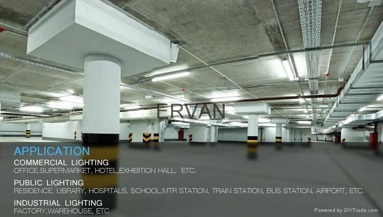 40W Emergency LED Tube for warehouse ,led downlight 3