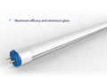 LED T8 Fluorescent Tube replacement with