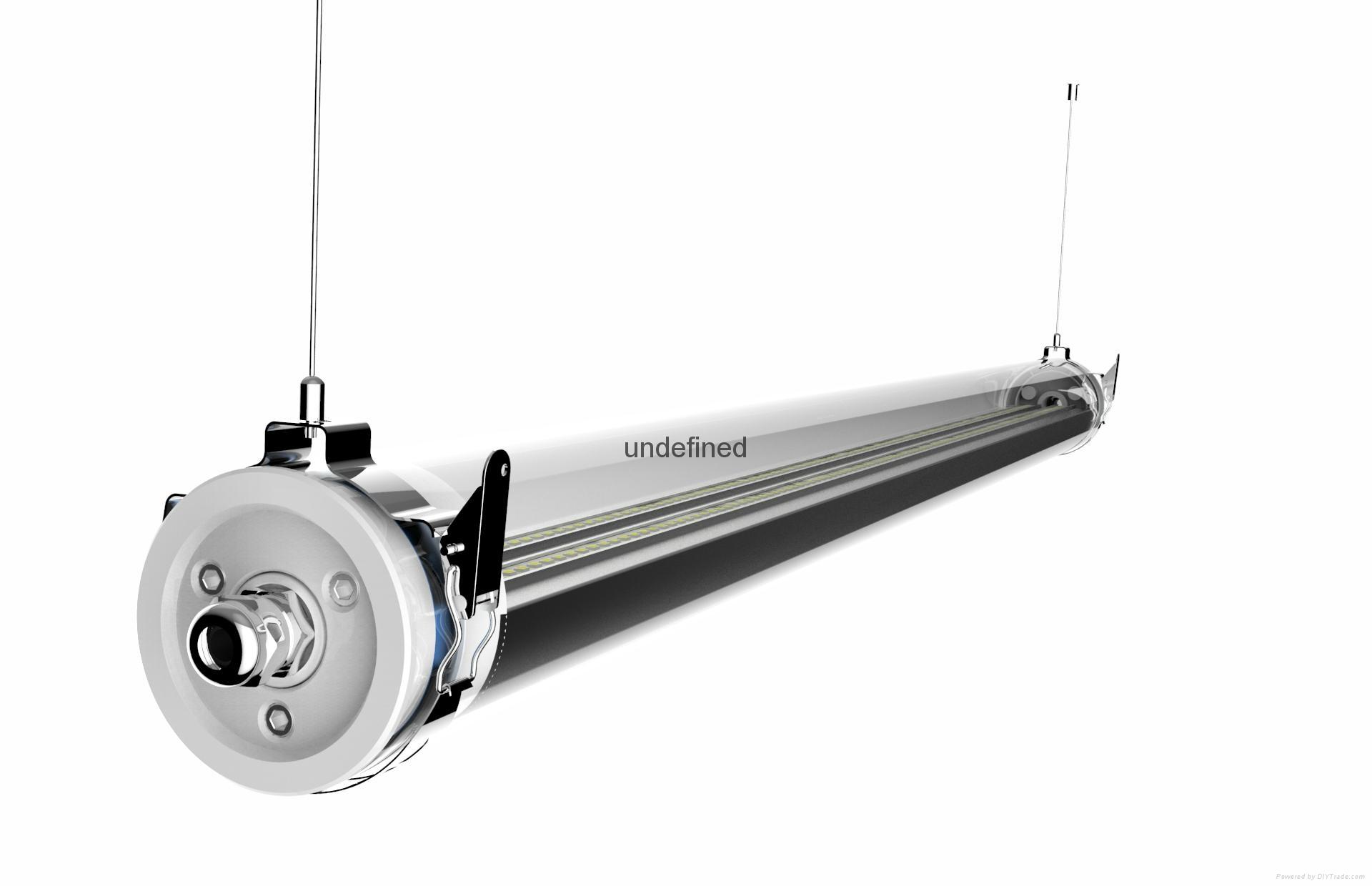 LED batten fitting 1500mm IP69K Waterproof 6
