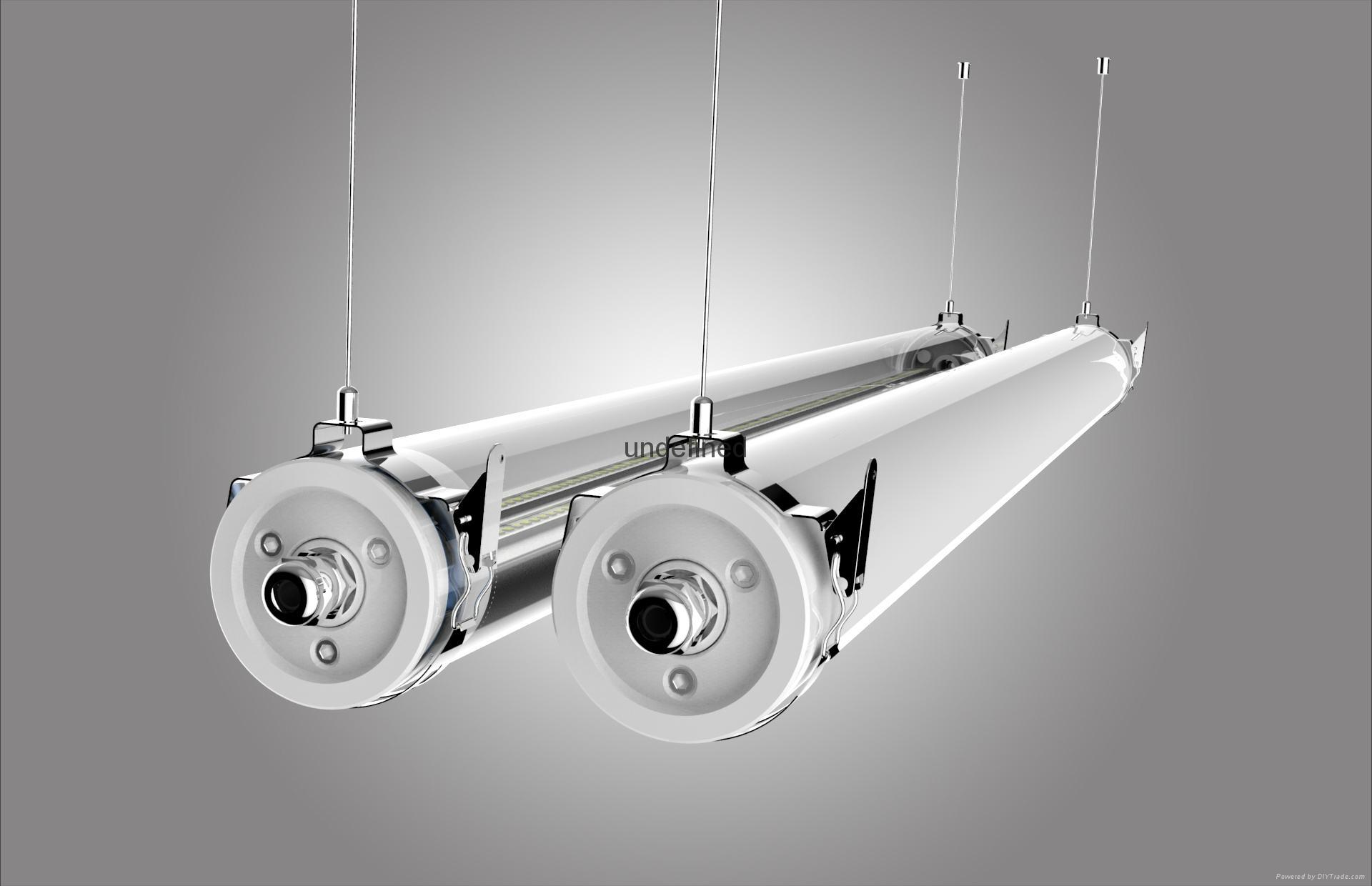 LED batten fitting 1500mm IP69K Waterproof 11