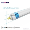 ERVAN internal driver T5 led tube replacement with Rotating end caps