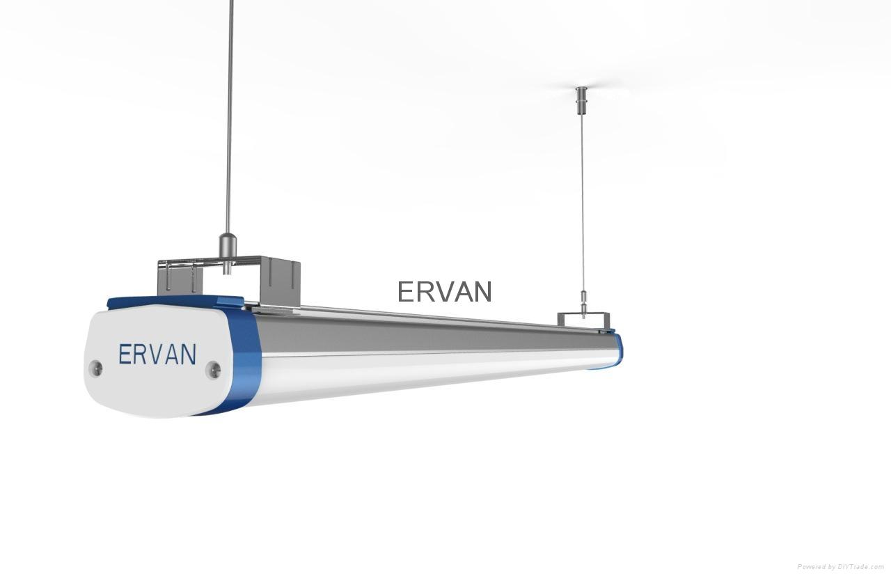 TUV approved ERVAN T07 retrofit LED batten fitting 2