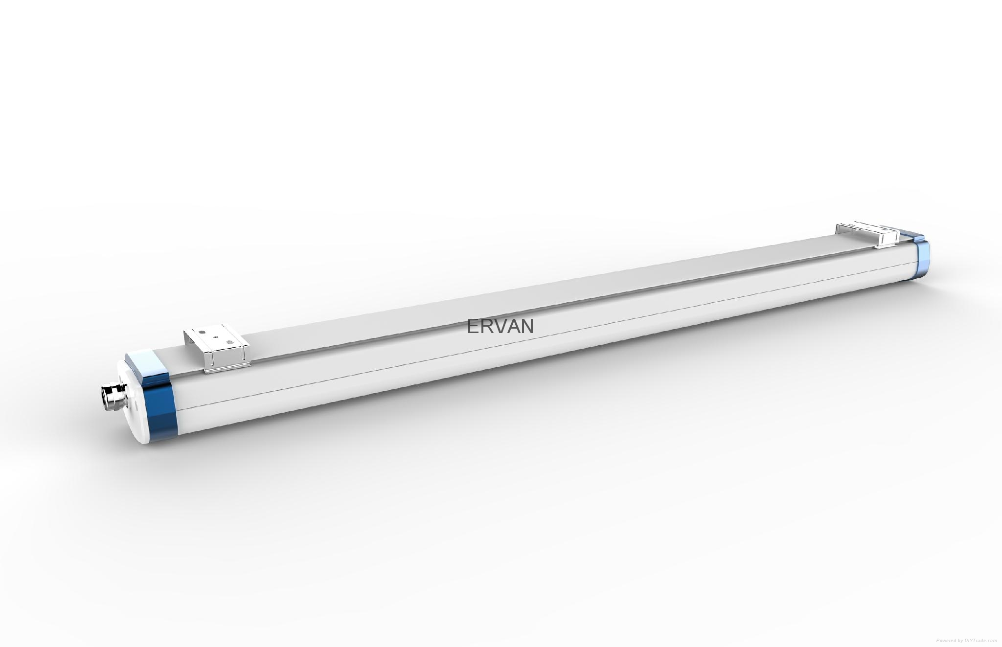 TUV approved ERVAN T07 retrofit LED batten fitting 6