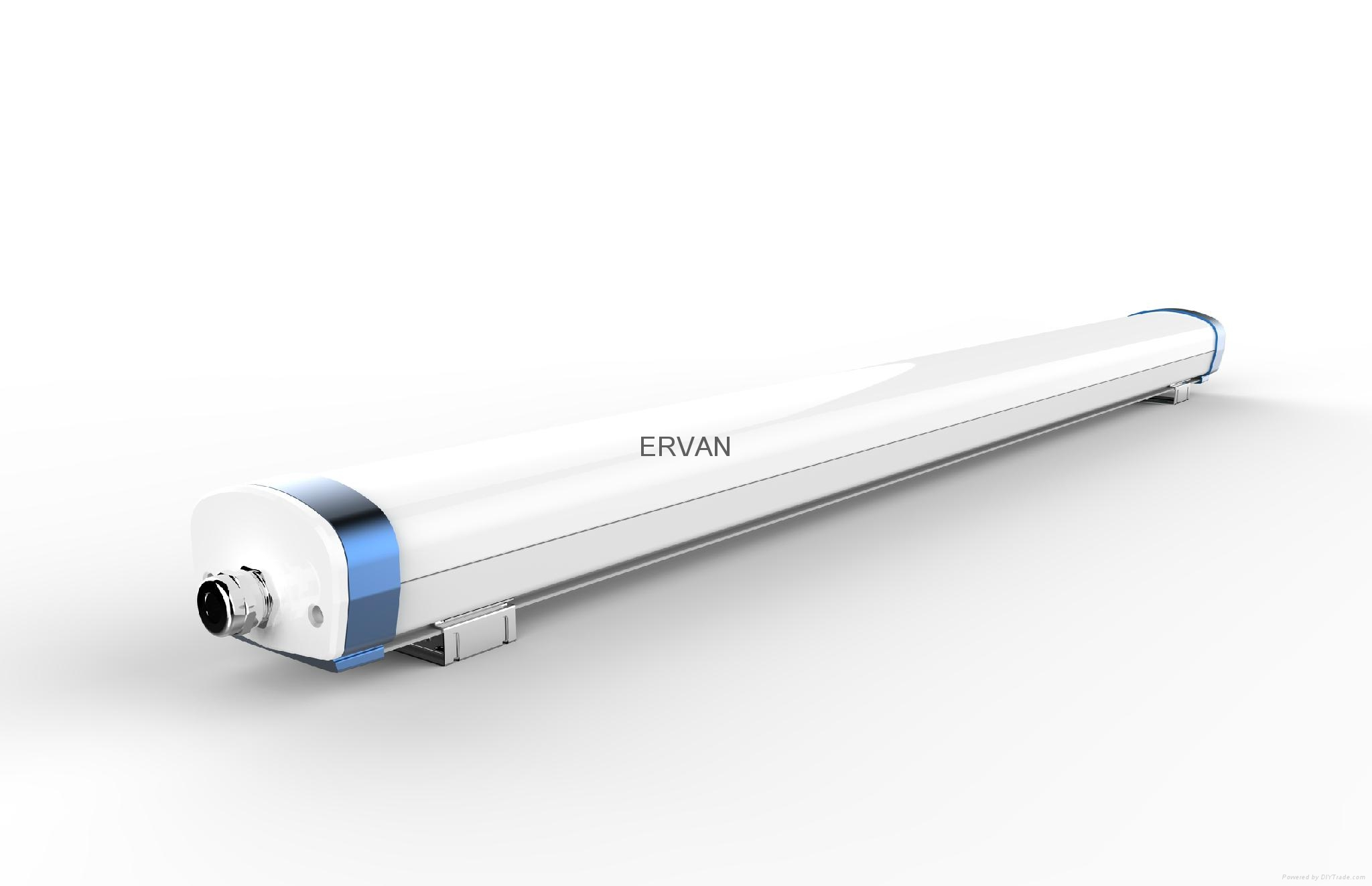 TUV approved ERVAN T07 retrofit LED batten fitting 7