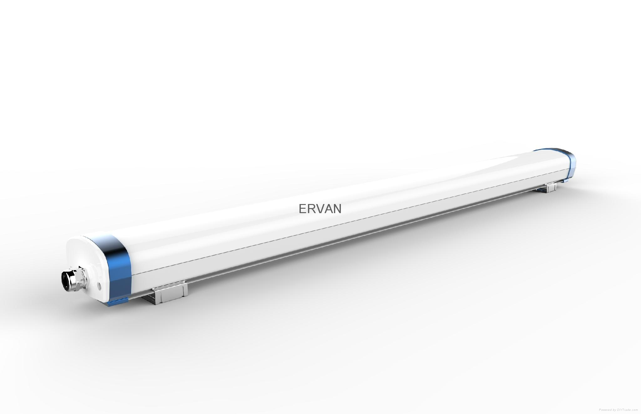 TUV approved ERVAN T07 retrofit LED batten fitting 8