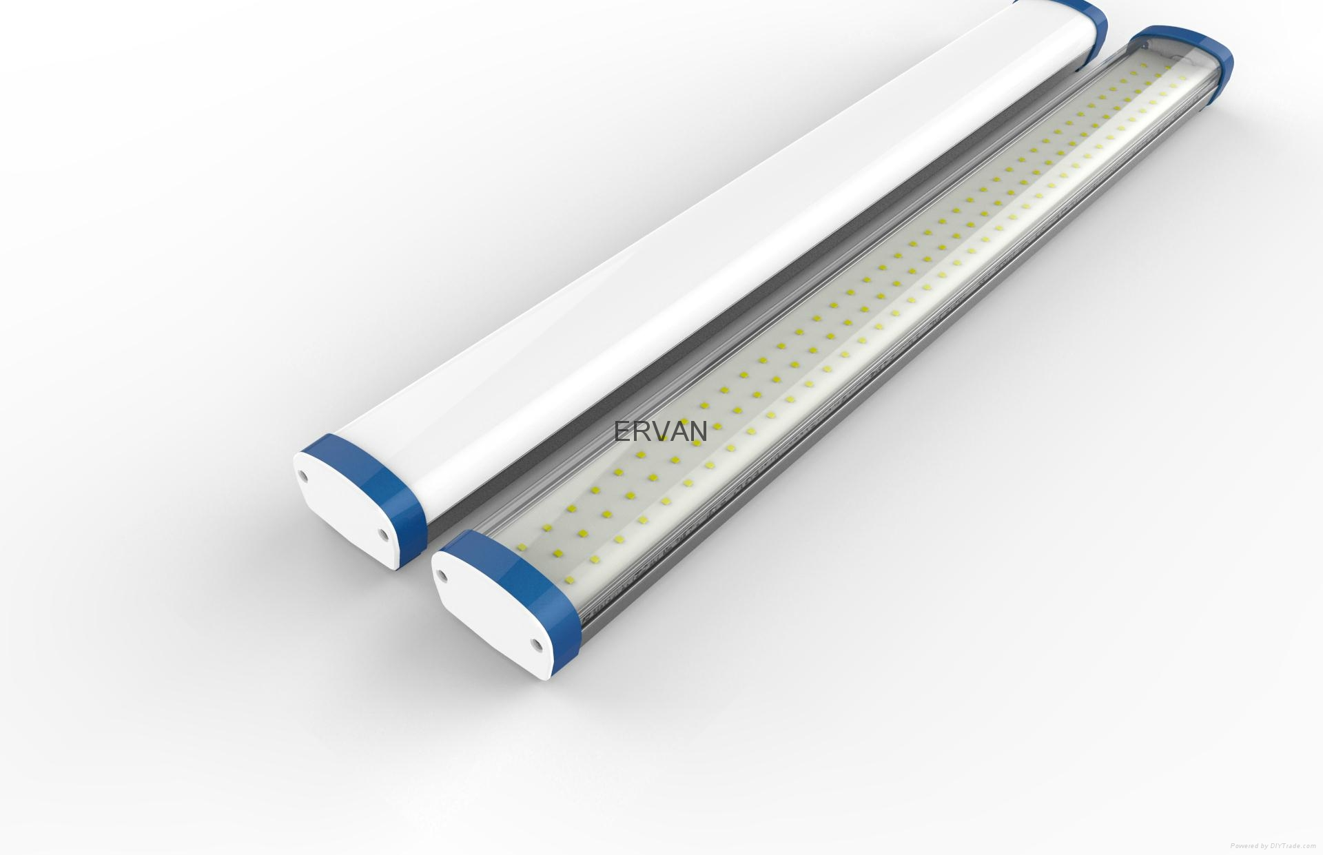 TUV approved ERVAN T07 retrofit LED batten fitting 18