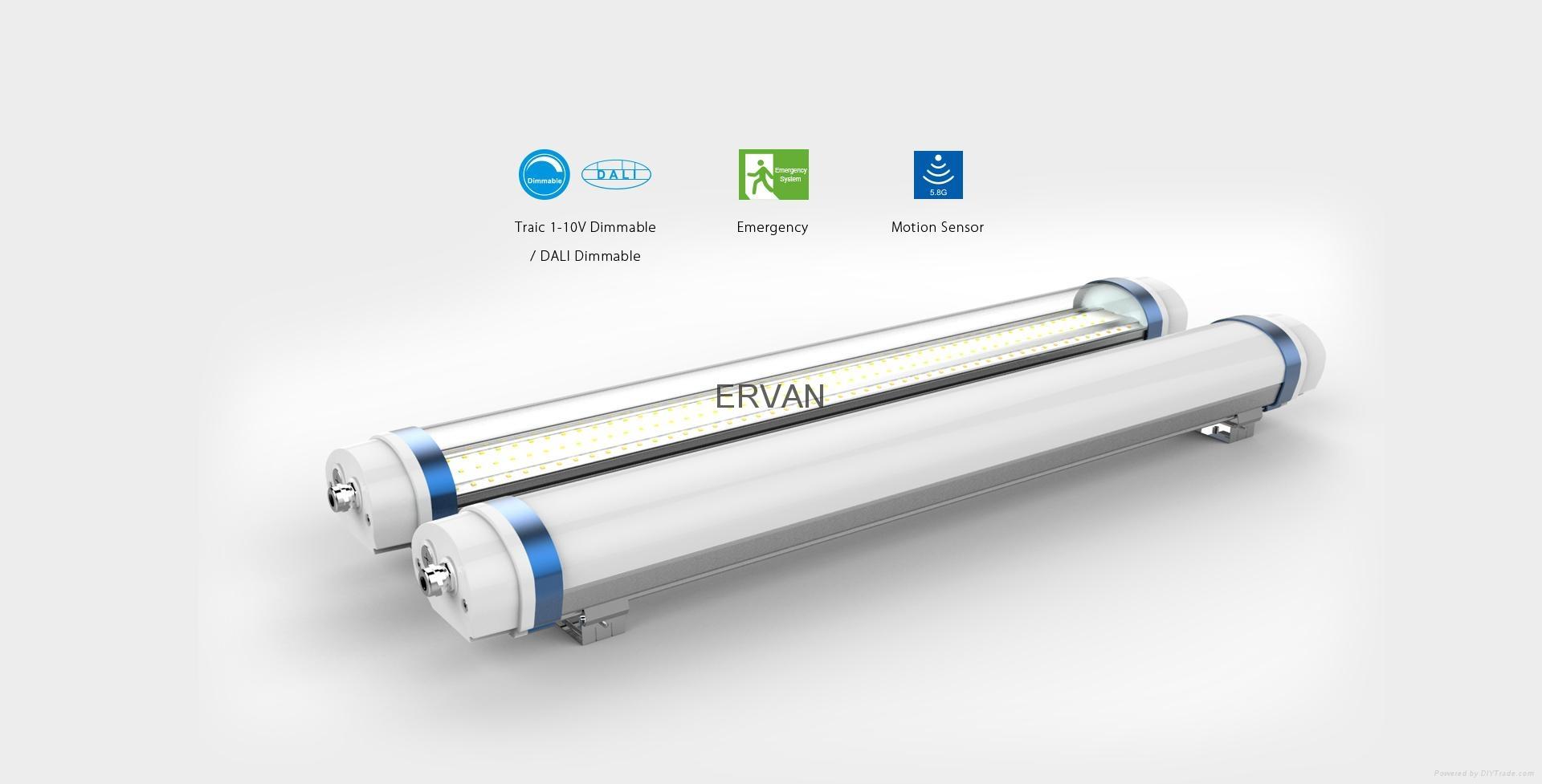 IP66 Moisture proof light fixture TUV listed high efficiency 15