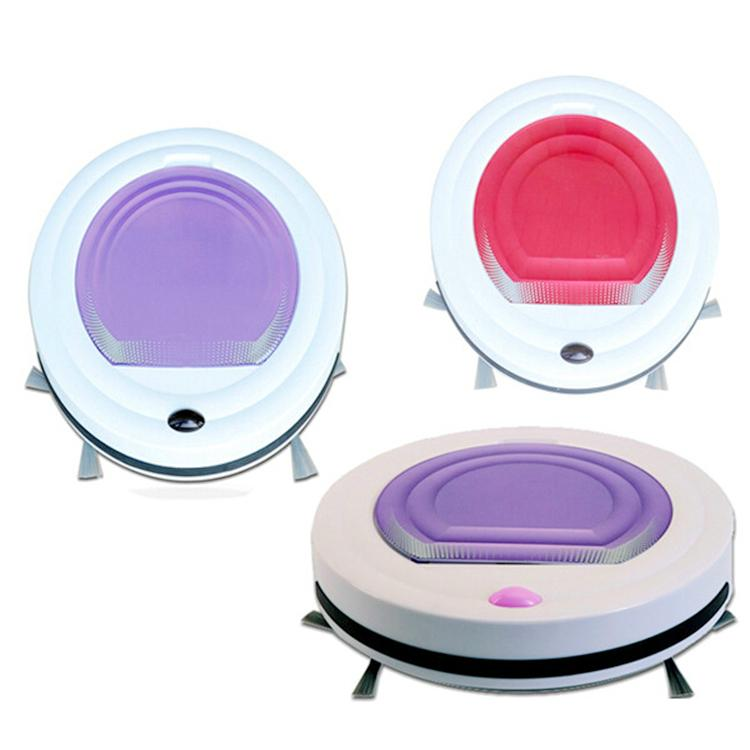 Mini Smart Cheapest Auto-Mop Robot Vacuum Cleaner with Colorful  5