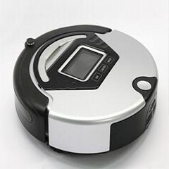 智能防撞扫地机  带有遥控器 自动回充功能