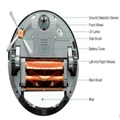 Automatic robot vacuum cleaner for household with red green color via romote con 2