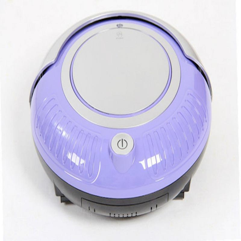OEM Cheap Robotic Vacuum Cleaner with LED Light 3