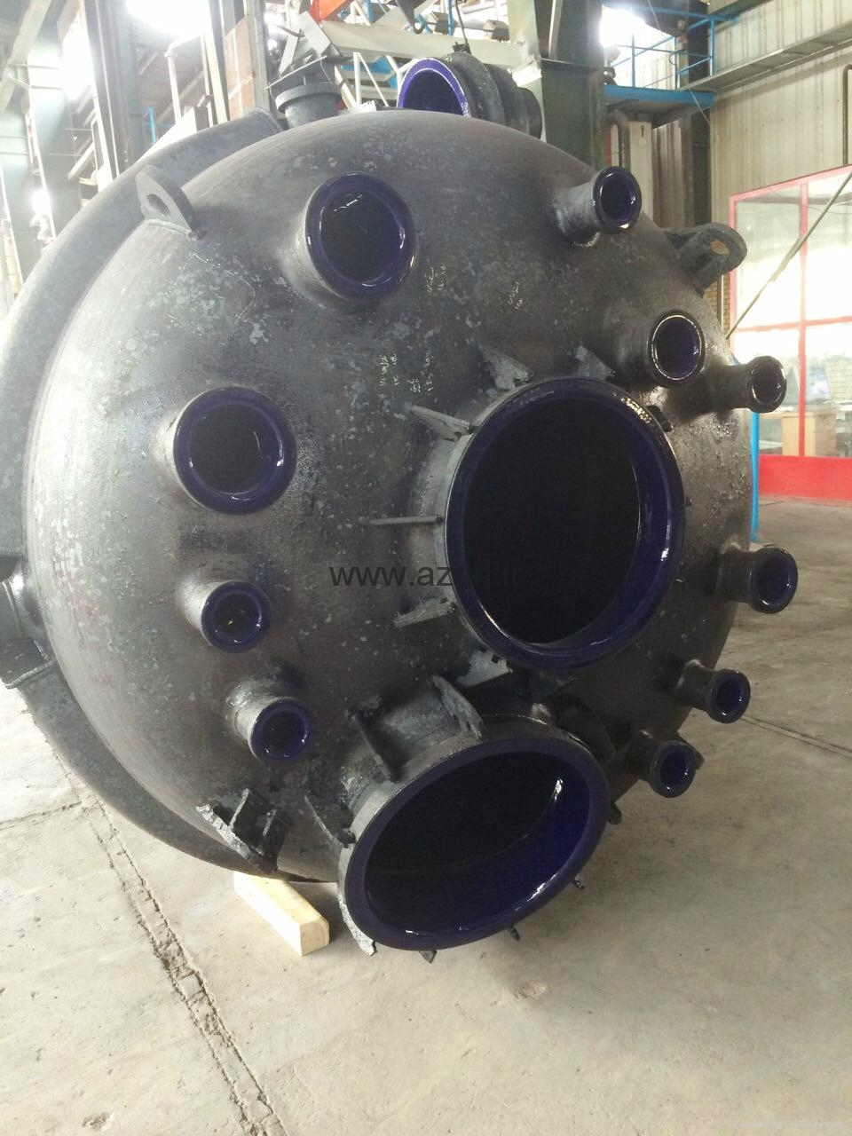 Glass lined reactor 2