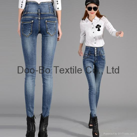 high waist jeans wear ladies jeans custom made - CCRG-6066 (China
