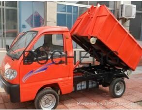 Electric Garbage Truck 3
