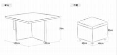 度帆陽台戶外沙發簡約現代客庭院廳臥室美式歐式藤沙發組合