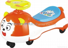 CARTON SHEET SWING TOY CAR