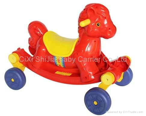 Slide the horse   Rocking horse  Children's horse 2