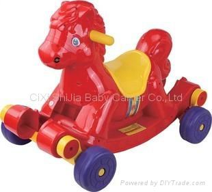 Slide the horse   Rocking horse  Children's horse 1