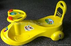Children's entertainment fitness car