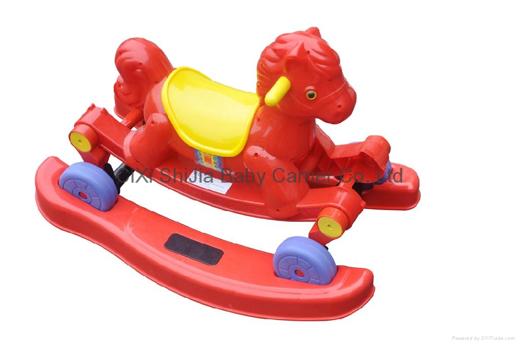 Rocking horse toy car  with music  1