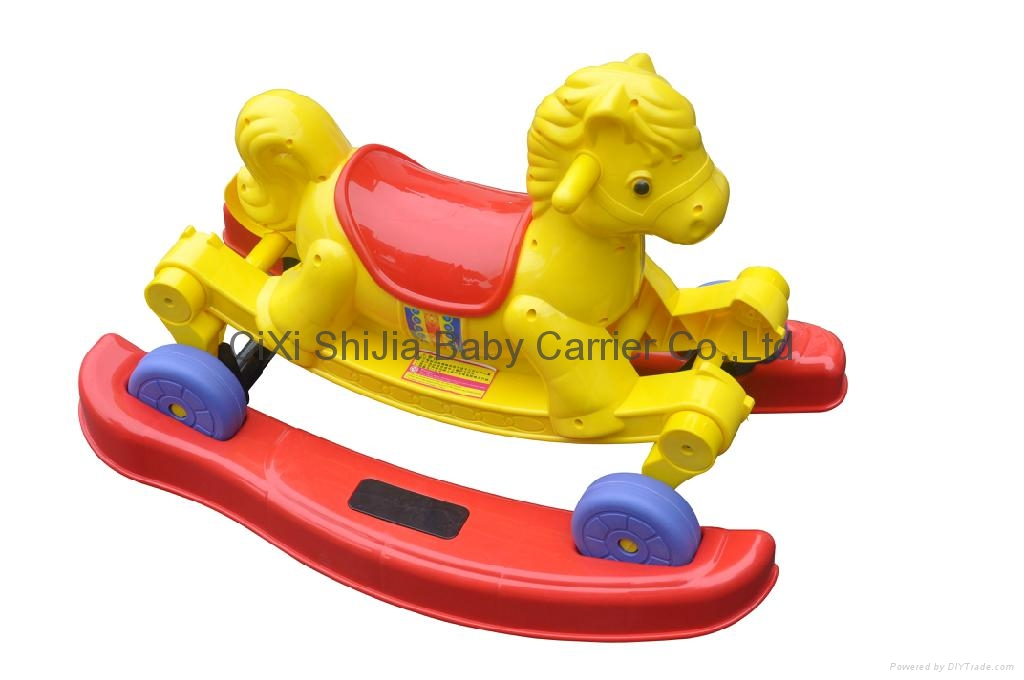 Car Toys Product : Rocking horse toy car with music sj shijia china