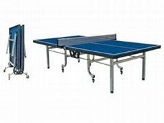 新双折移动室内乒乓球台