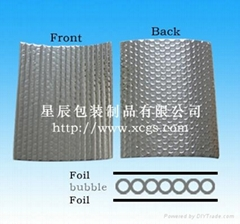 Low Price Good Quality Aluminum Bubble Foil Flooring Material/Car Glass Heat Res