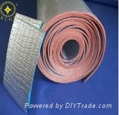 White PE Foam Laminated Aluminum Foil Foam Insulation