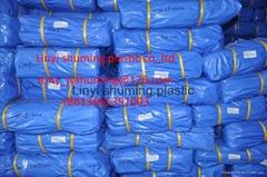Heavy duty PE tarpaulin ready made,double coated PE