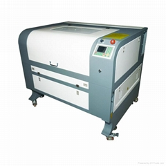 CO2 laser cutting machine for garment labels with CCD camera