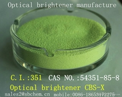 Optical brightener for detergents CBS-X