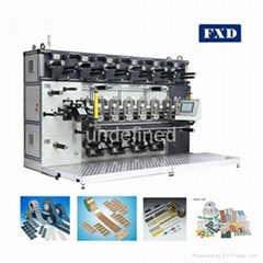 Seven Mould Seats Label Rotary Die Cutting Machine