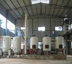 Hot sale 5TPD batch soybean crude oil refinery